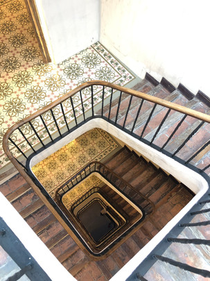 Escalera Edificio