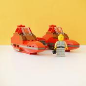 Twin-Pod Cloud Car (7119)