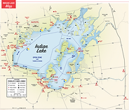 map of indian lake