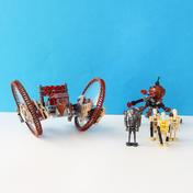 Hailfire Droid & Spider Droid (7670)