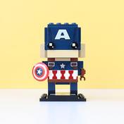 Brick Headz Captain America (41589)