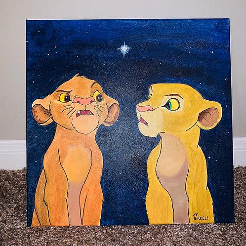 The Real Simba & Nala