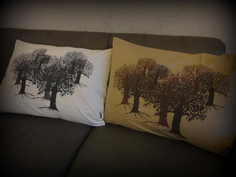 Puut tyynyliinoissa