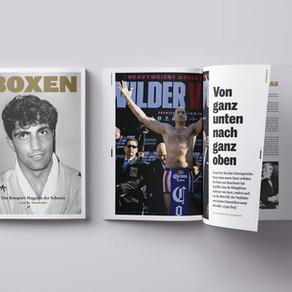 Ein Boxsport Magazin für die Schweiz