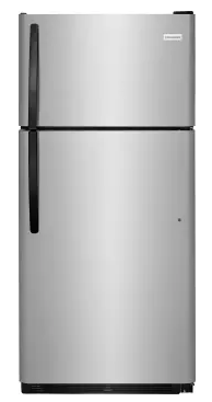 "Frigidaire 18 cu ft, 30""W Top-Freezer Refrigerator"