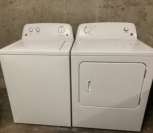 Kenmore Style:09 Washer and Dryer Set