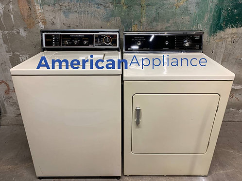 GE/Gibson Washer and Electric Dryer Set