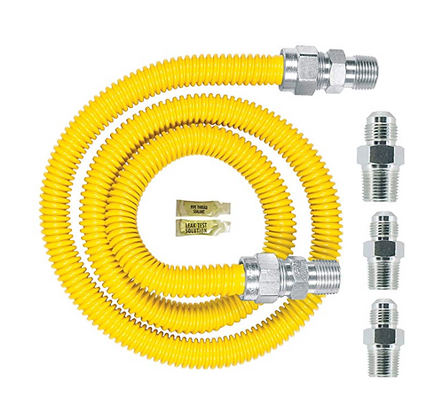 New kit: Gas Appliance Connector Pipe & Fittings