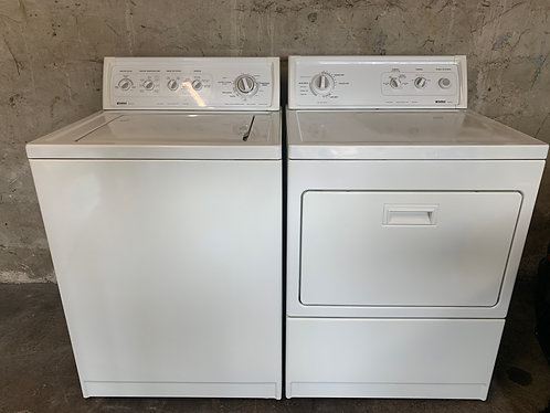 Kenmore Style:11 Washer and Dryer Set