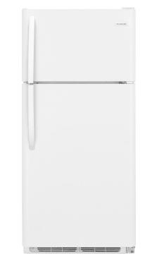 """Frigidaire 18 cu ft, 30""""W Top-Freezer Refrigerator"""