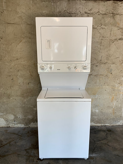 """Kenmore 27"""" Stackable Washer and Electric Dryer Combo"""