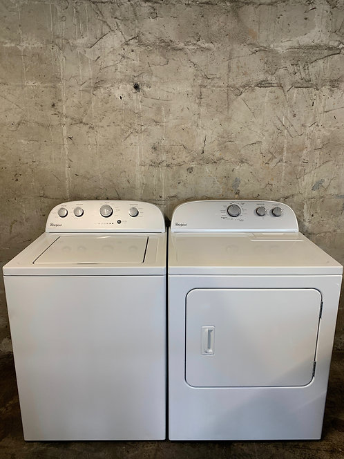 Whirlpool Style:02 Washer and Dryer Set