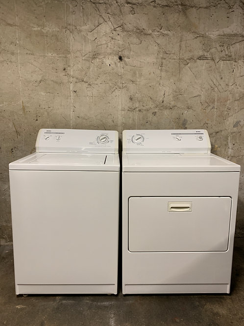 Kenmore Style:12 Washer and Dryer Set
