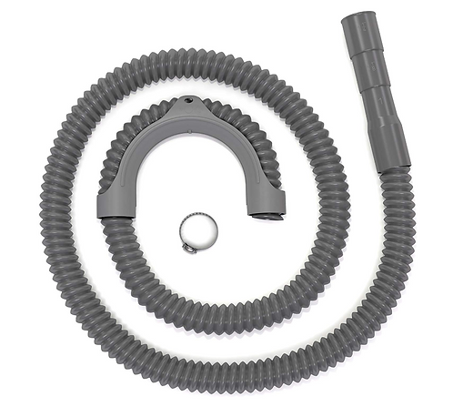 "(12FT length) Washing machine drain hose, universal ""cut-to-fit"" size"