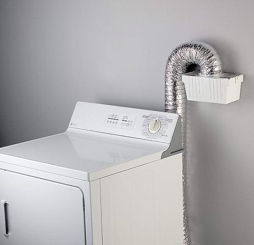 (5FT length) Universal dryer (Ventless) lint trap kit