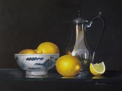 kotka silver, chinese bowl and lemons!.j