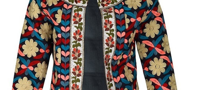 Embroidery Jacket Textures Jaipur