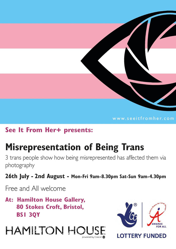 Misrepresentation of being trans: An Exhibition