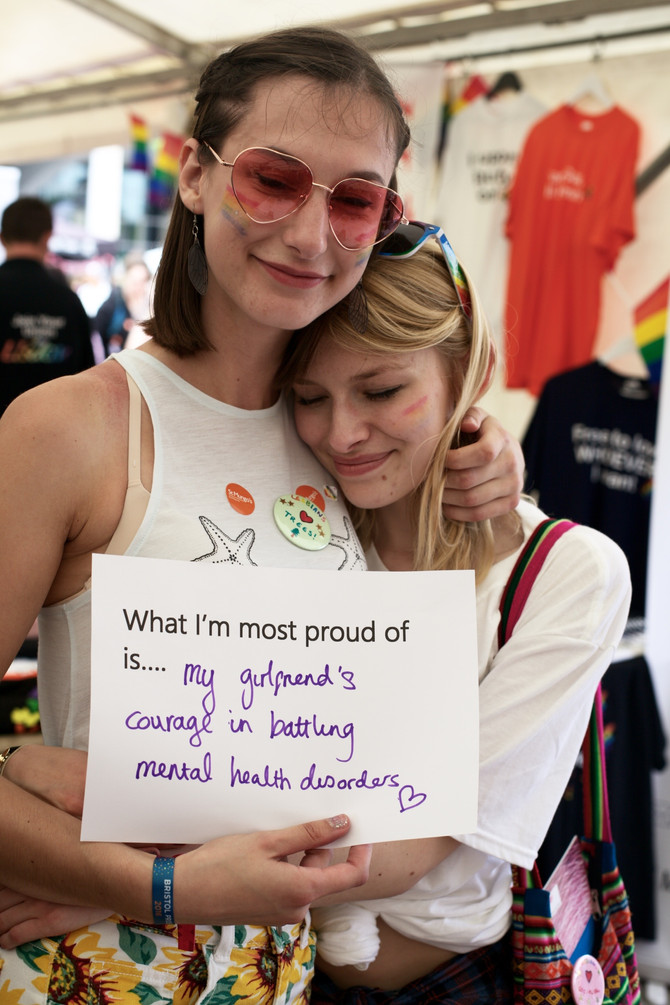Pride: 'What I'm most proud of...'