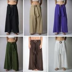 Organic Cotton Palazzo Solid Pants