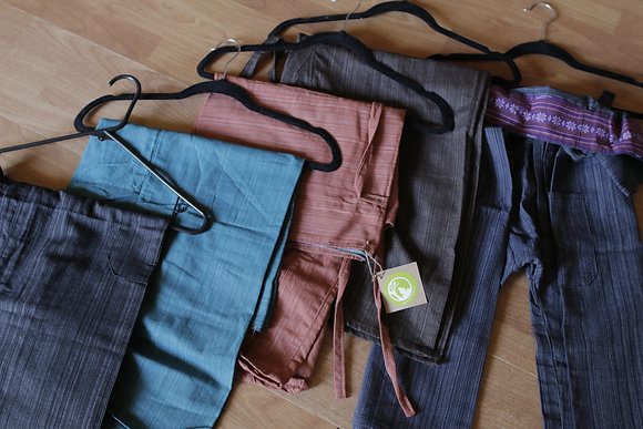 Thai Cotton Fisherman Pants