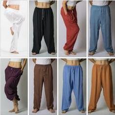 Unisex Super Soft Cotton Yoga Pants