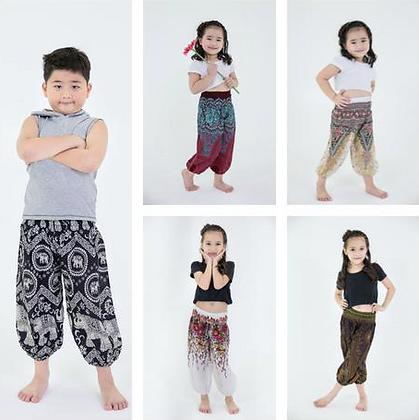 Children's Cotton Harem Yoga Pants (4-6 yrs. old)