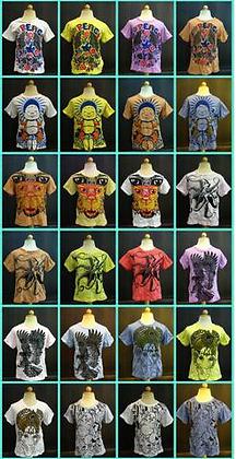 Kids Mirror Print T-Shirts