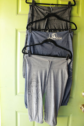 Organic Ganesha Jersey Crop Pants