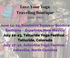 Save BIG at Summer Yoga Festivals & Online!