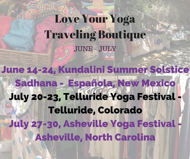 Save BIG at Summer Yoga Festivals & Online!