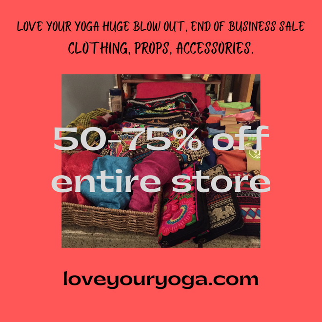HUGE Sale!!!  50-75% Off Entire Store