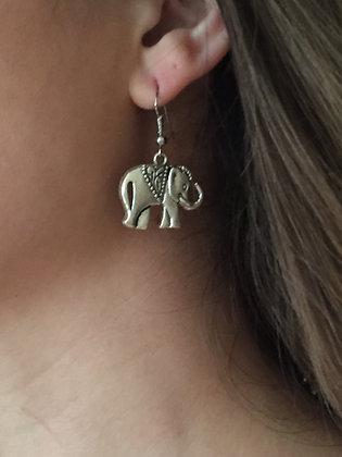 Silver Thai Hand Made Earrings