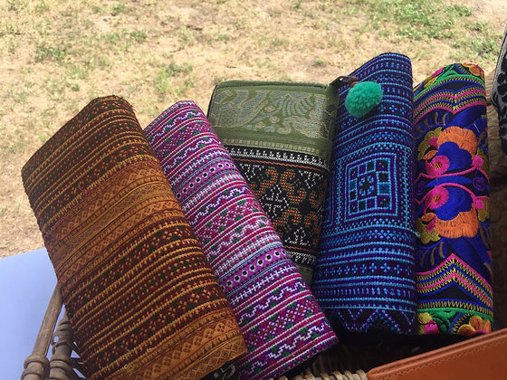 Aztec Ethnic Hill Tribe Wallet