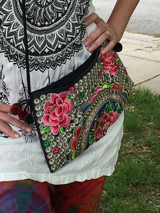 Hand Made Hmong Shoulder Bag