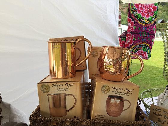 "Copper ""Moscow Mule"" Mug"