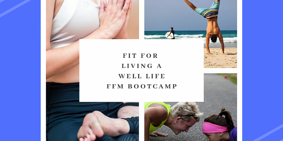 Fit for Living Well for Life - FFM Bootcamp Jurien Bay