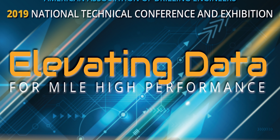 2019 National Technical Conference and Exhibition