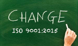 ISO 9001: 2015 Transition