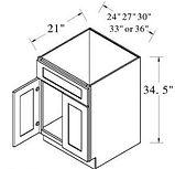 vanity sink base double doors 1 dummy dr