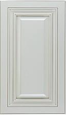 Antiqe White Raised Panel Cabinet Door.P