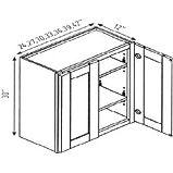 30 high double door wall cabinets.JPG