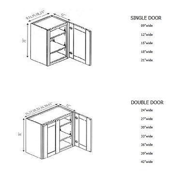 30 inch high wall cabinets.JPG