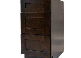 Espresso Shaker Vanity Drawer Cabinet.JP