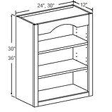 wall open shelf 30 - 36 high.JPG