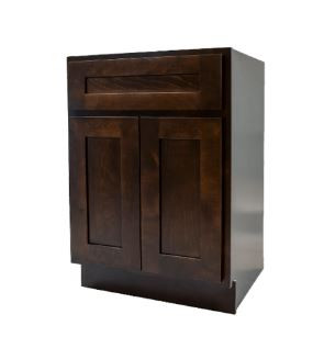 Espresso Shaker Vanity Sink Cabinet.JPG