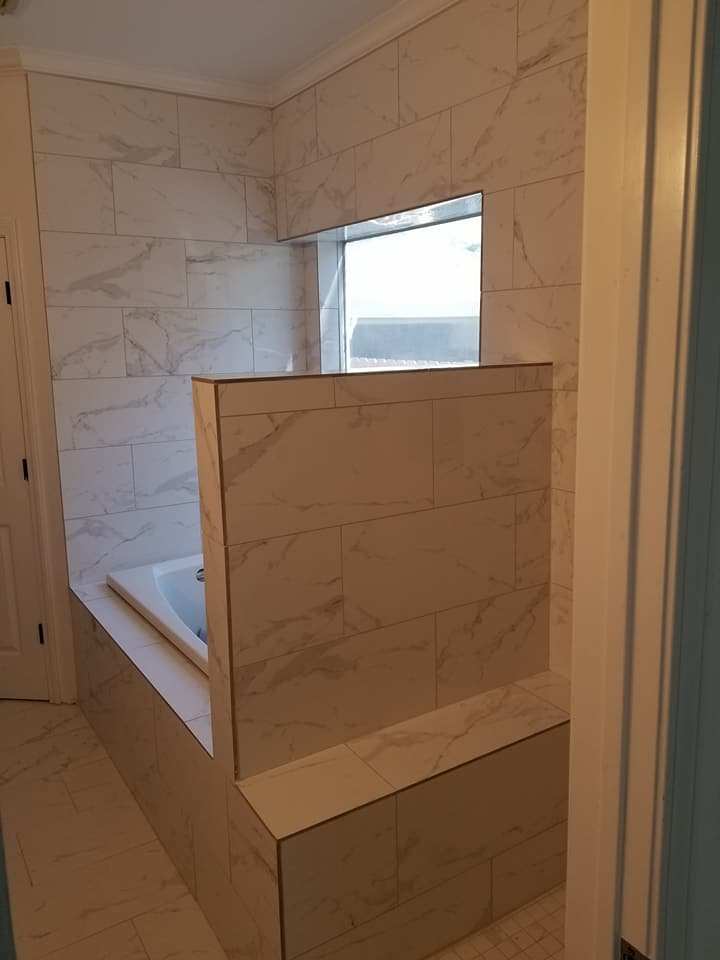 bathroom remodel in Katy, Texas