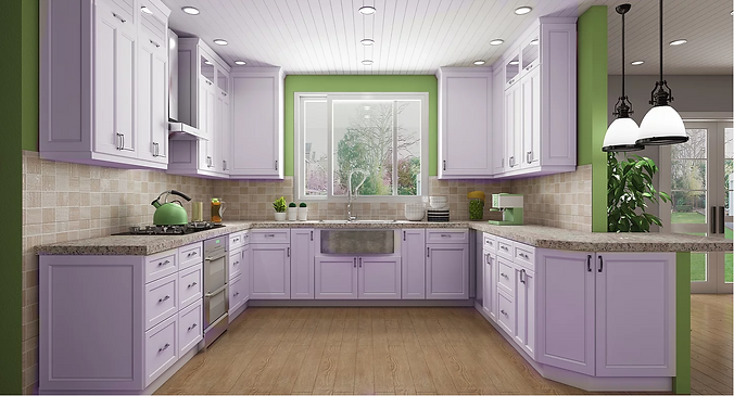 Shaker Grey Light Kitchen Cabinets.PNG