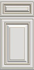 Arlington Oatmeal Kitchen Cabinet Door .
