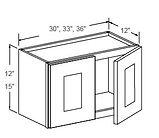12 - 15 high wall cabinets double door n